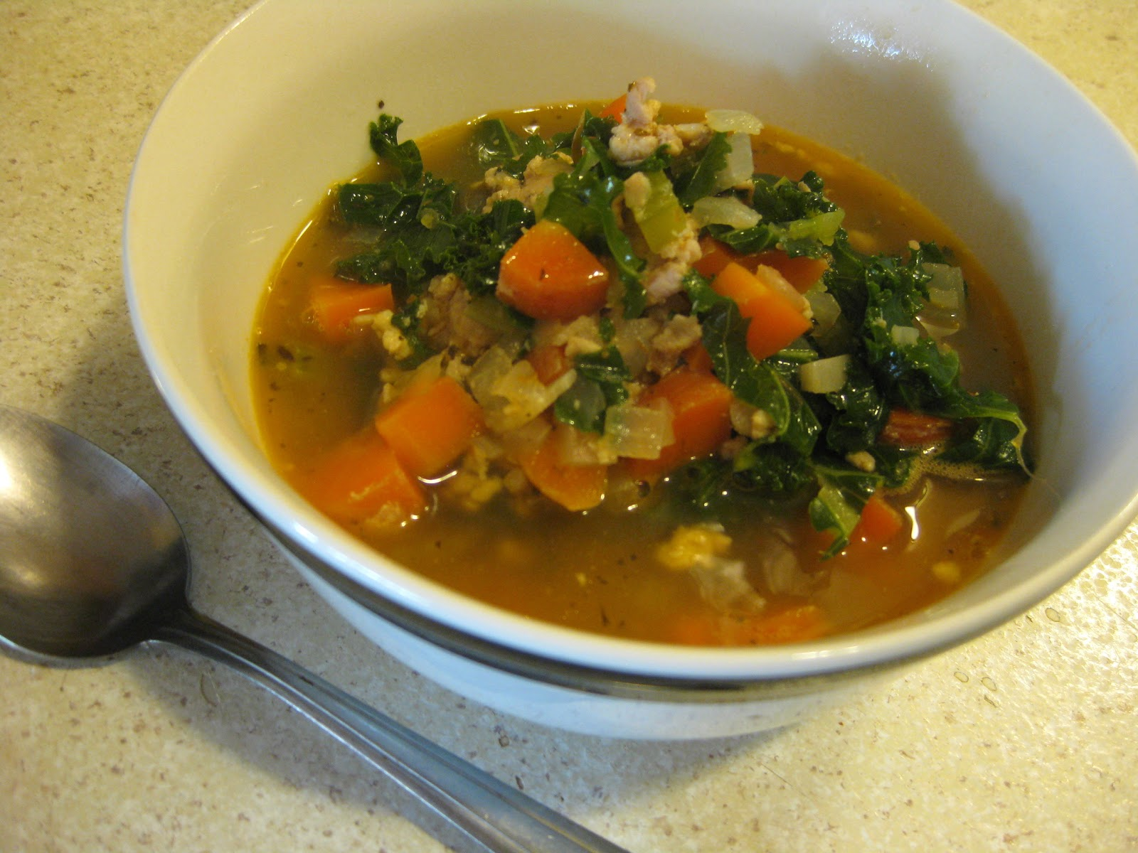 Chow Bella: Italian Sausage and Kale Soup