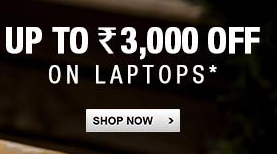 Flipkart : Extra Rs. 3000 off on laptops || With Recommendations