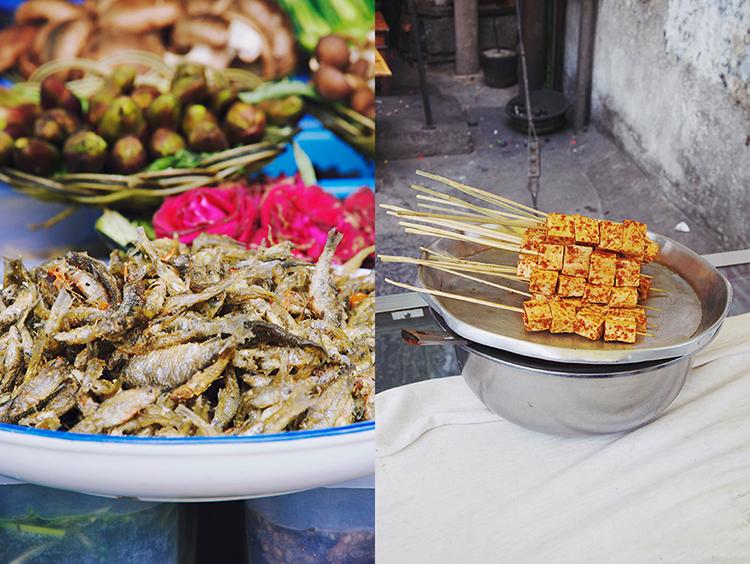 Food in Dali, China