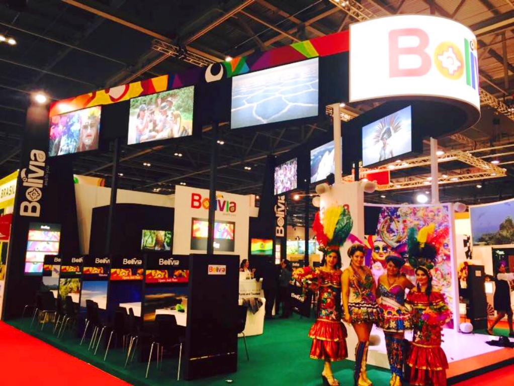 Bolivia est presente en una de las ferias de turismo m s for Ministerio del turismo