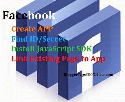 create facebook app and find id