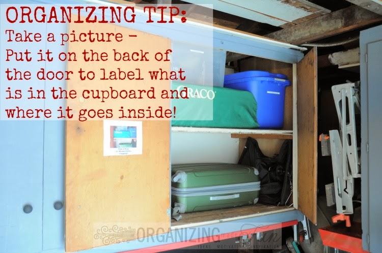 Fun Garage Thing : Garage organization cupboards organizing made fun