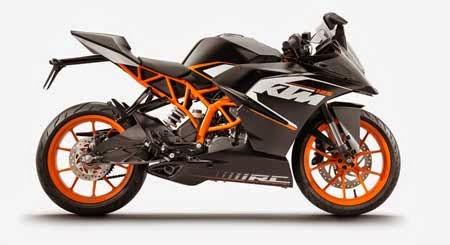 Gambar Motor sport KTM RC 200