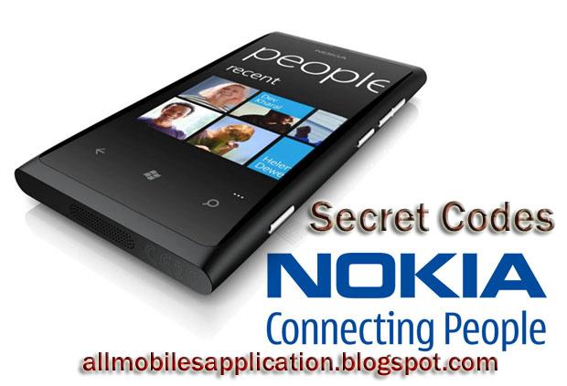 nokia mobile secret codes pdf