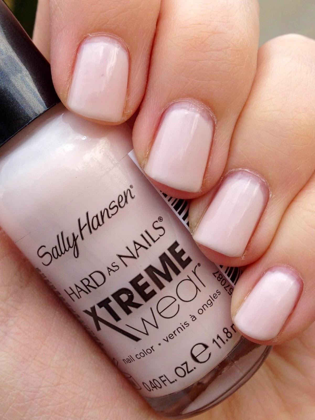 Short \'n Chic: Sally Hansen Xtreme Wear Pearl Up