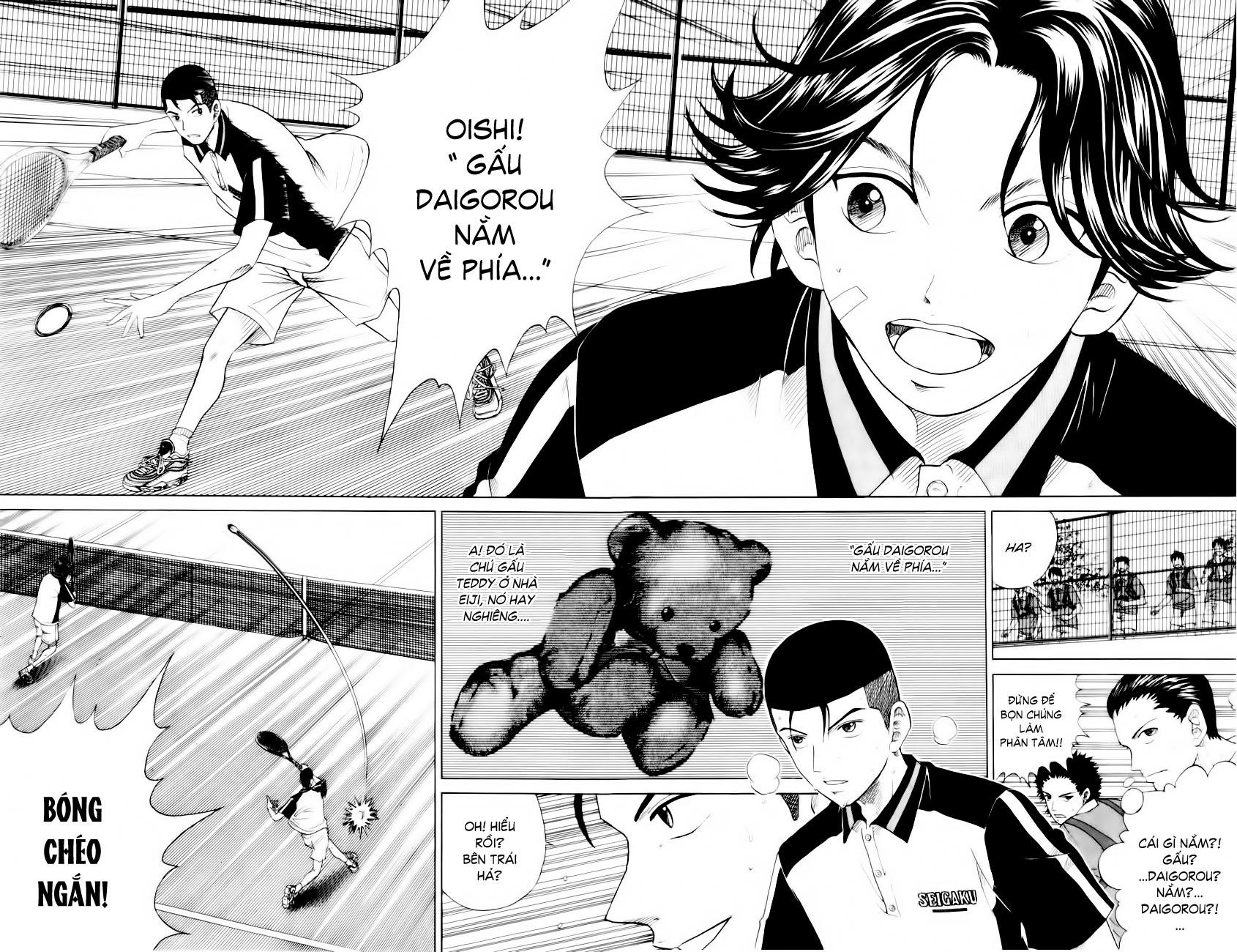 Prince of Tennis chap 94 Trang 13