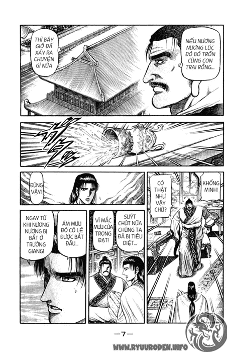 Chú Bé Rồng - Ryuuroden chap 97 - Trang 8