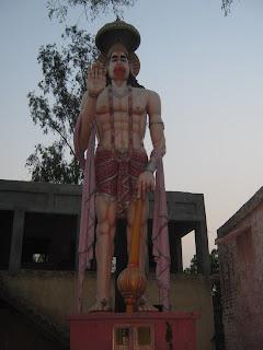Hanuman idol karanwas