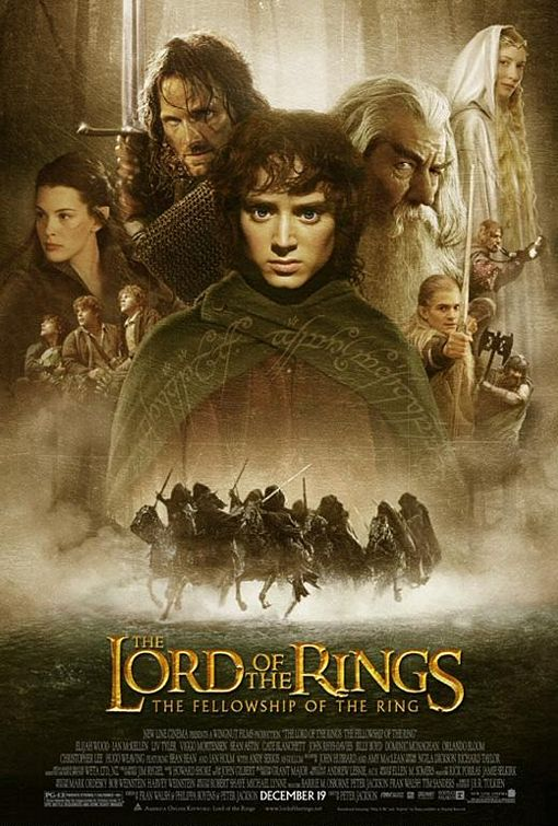 Lord of the Rings Movie Cover