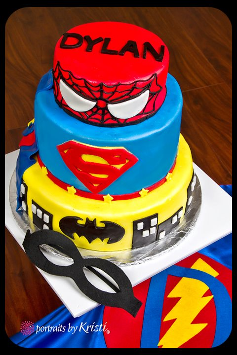 Little Delights Super Hero Cake And Birthday Boy