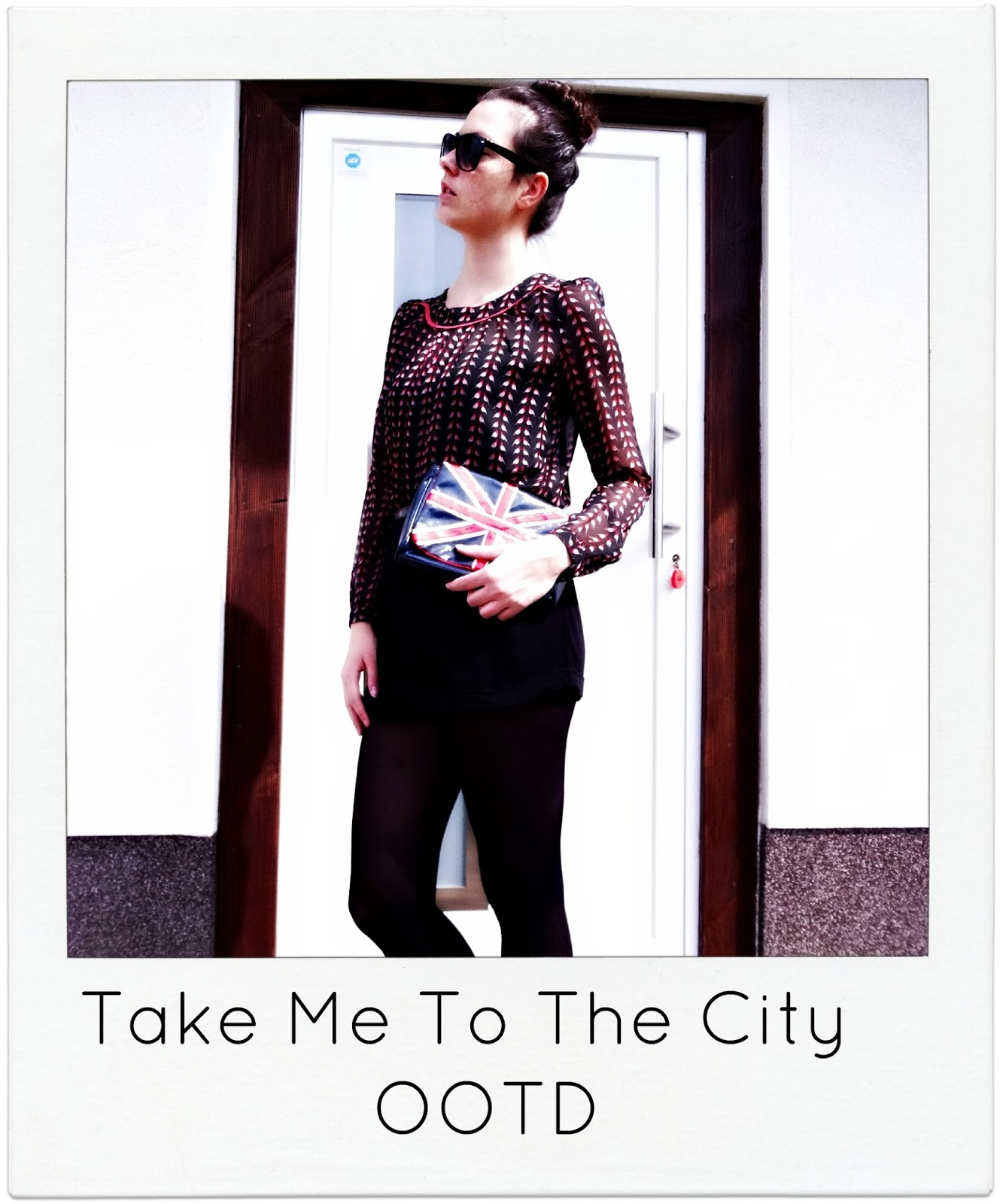 Take me to the city outfit fashion post