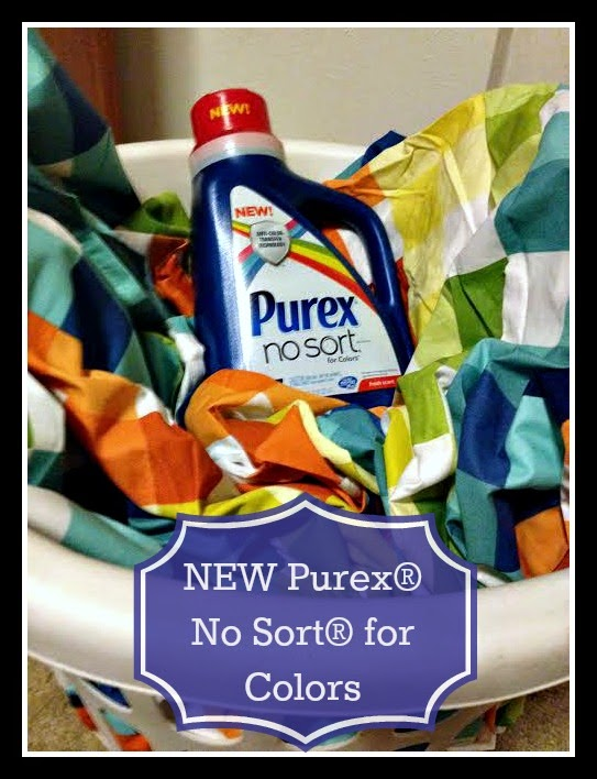 NEW Purex® No Sort® for Colors detergent #giveaway