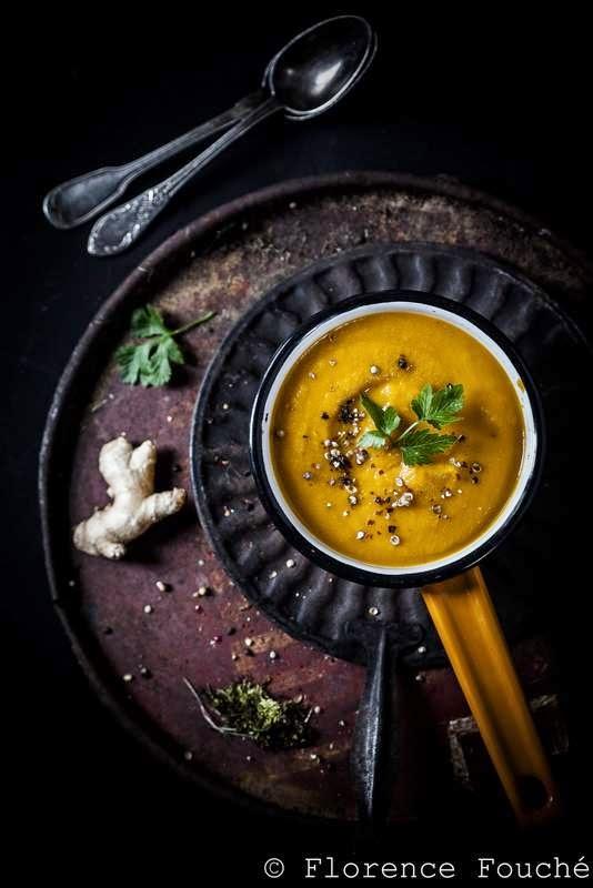 gourmandises chroniques velout carottes gingembre entre rondeur et raffinement. Black Bedroom Furniture Sets. Home Design Ideas