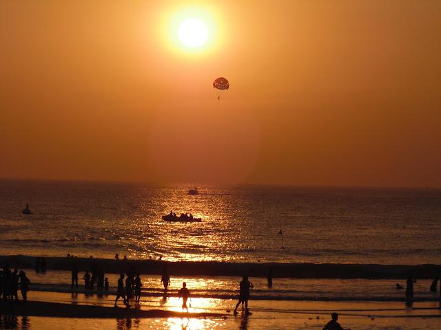 Scenic Sunset View at Kashid Beach