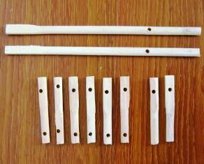 stick bambu untuk miniatur atau mainan