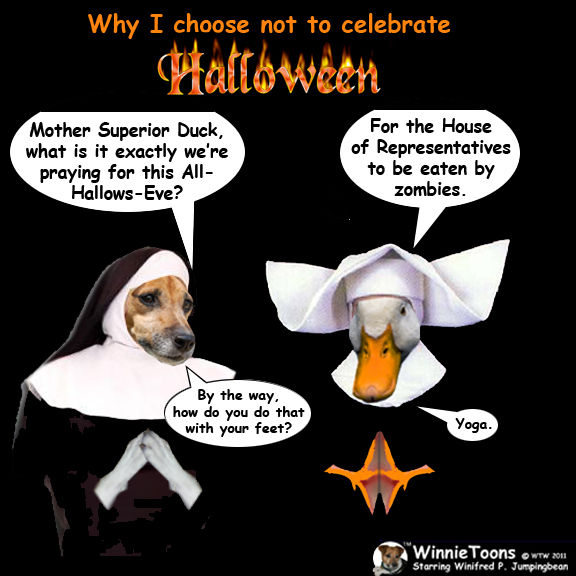 Why i choose not to celebrate halloween winnietoons for Why do we celebrate halloween in america