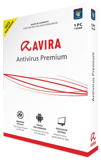 Avira Antivirus Premium 13.0.0.3736