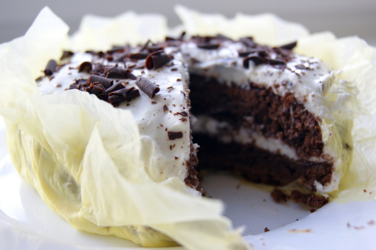 Шоколадный торт с сметанным кремом рецепт пошагово в домашних