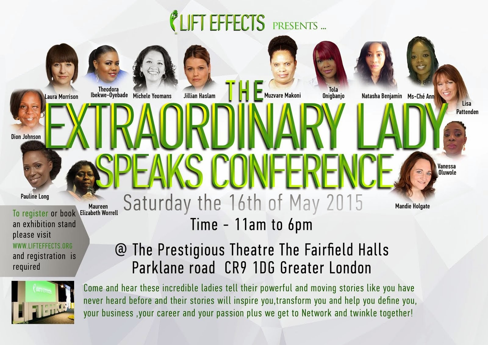 The Extraordinary Lady Speaks Conference 2015