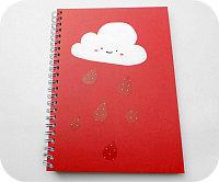quaderno nuvola kawaii
