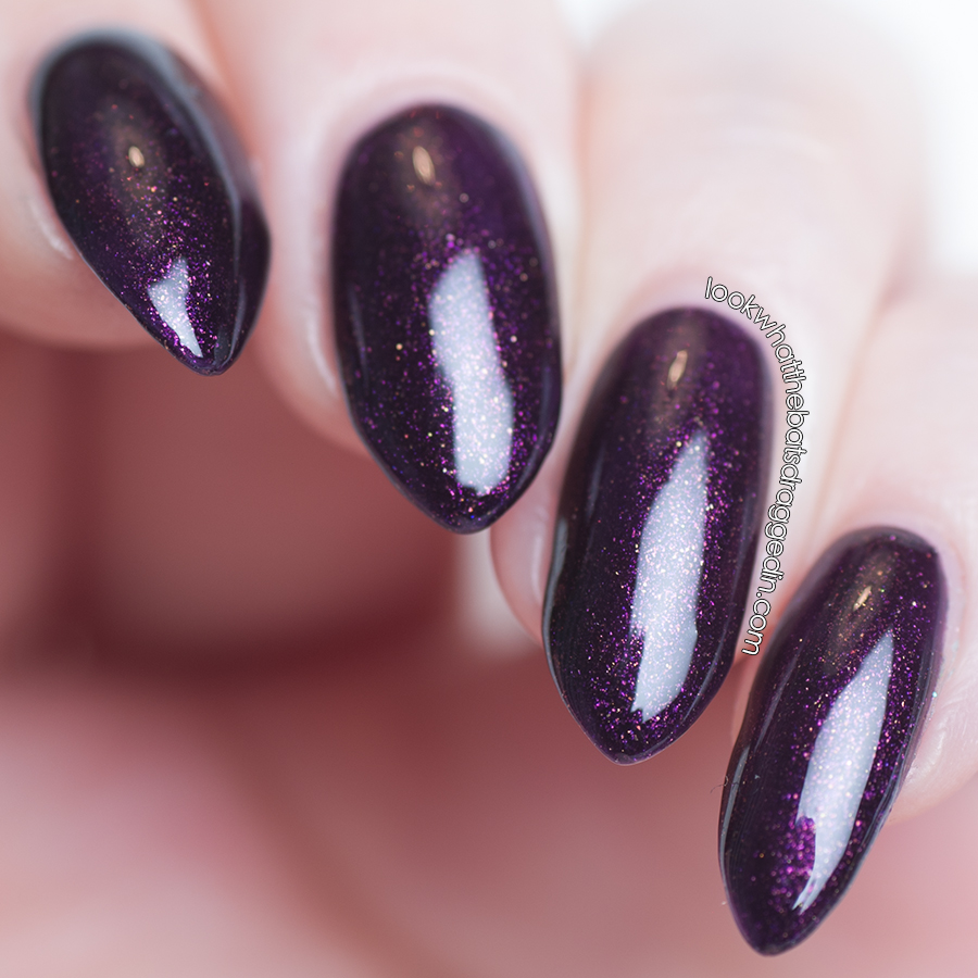 Arcane Lacquer Lividity Setting In nail polish swatch