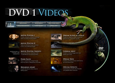 PhotoShop TopSecret Collection DVD1 Menu by www.maxginez3.com