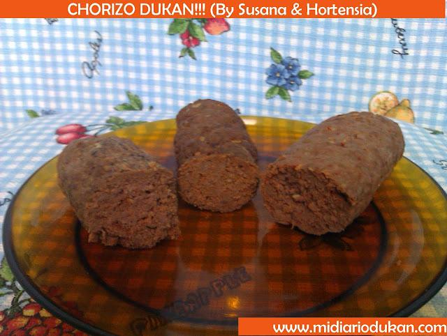 RECETAS DUKAN SALADAS Chorizo