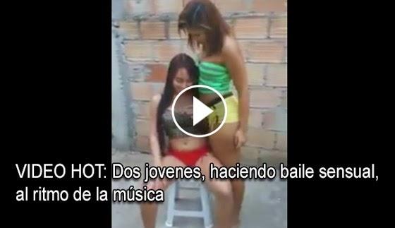 VIDEO INSOLITO -  Dos chicas ponen a volar la imaginación, a muchos, con este bailes hot.