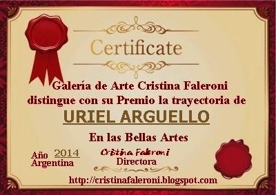 Uriel Arguello - Premiado