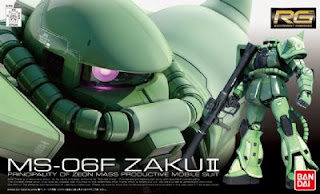 Real Grade 1/144 MS-06F Zaku II