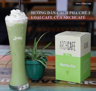 Hướng dẫn pha chế Sữa Đặc Cino | Matcha Latte Đá Xay | Cappuccino Sầu Riêng