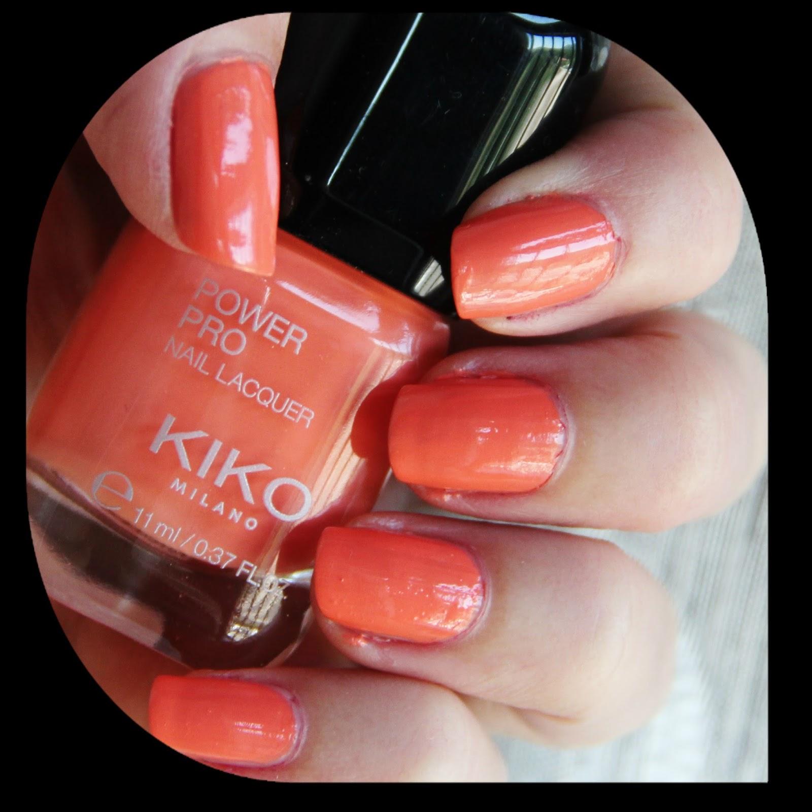 Notd Kiko Pro Nail Lacquer 07 Pesca