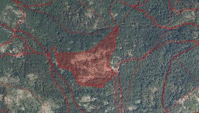 Localizacion de parcelas - Medicion topográfica