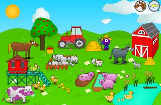 Animales de la granja y sus sonidos