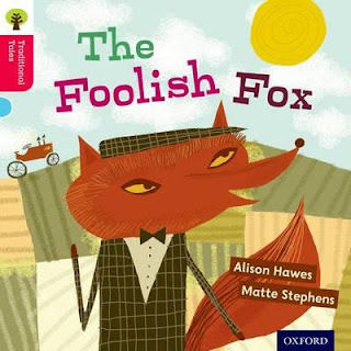 Foolish Fox children's book illustrated by Matte Stephens