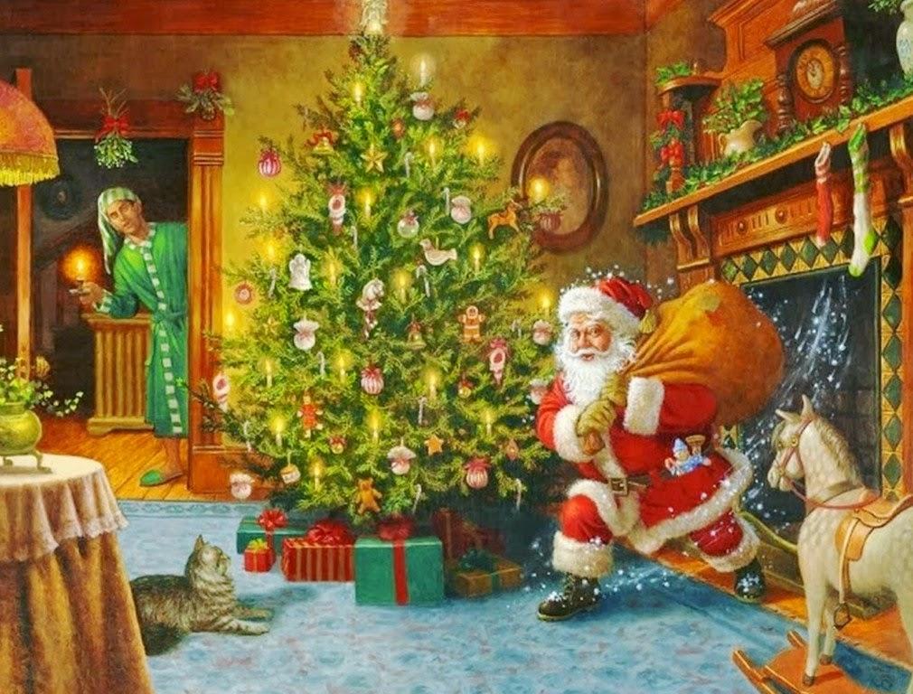 Cuadros pinturas oleos bonitos cuadros decorativos de - Decorativos de navidad ...
