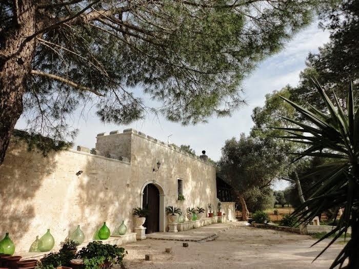 Front of Masseria