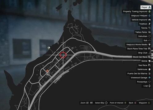 GTA 5, Human Locations, Bill Binder