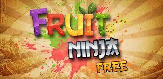 Game Fruit Ninja For Android Popular Game Has in download 500 million around the world