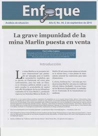 La grave impunidad de la mina marlin puesta en venta