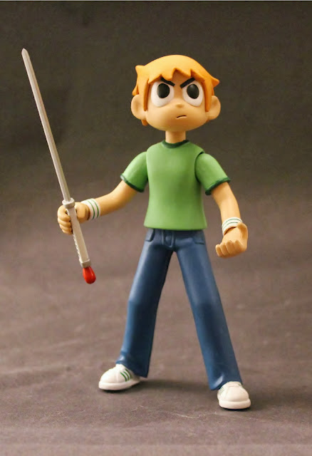 Scott Pilgrim with Power of Love Sword