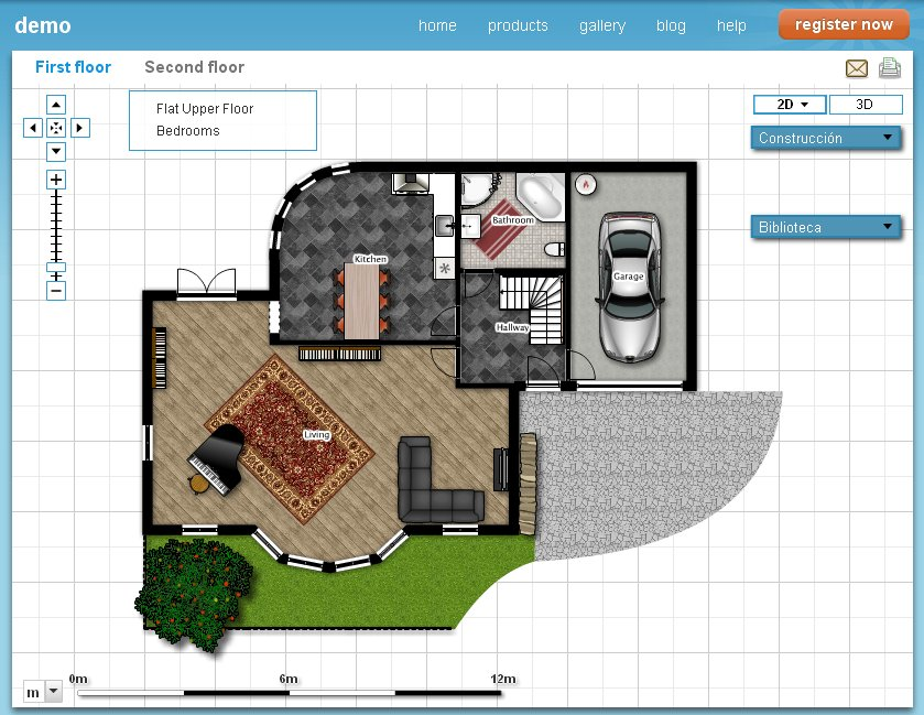Cultivando la mirada dise a tu casa con floorplanner 2d y 3d for Disena tu dormitorio 3d