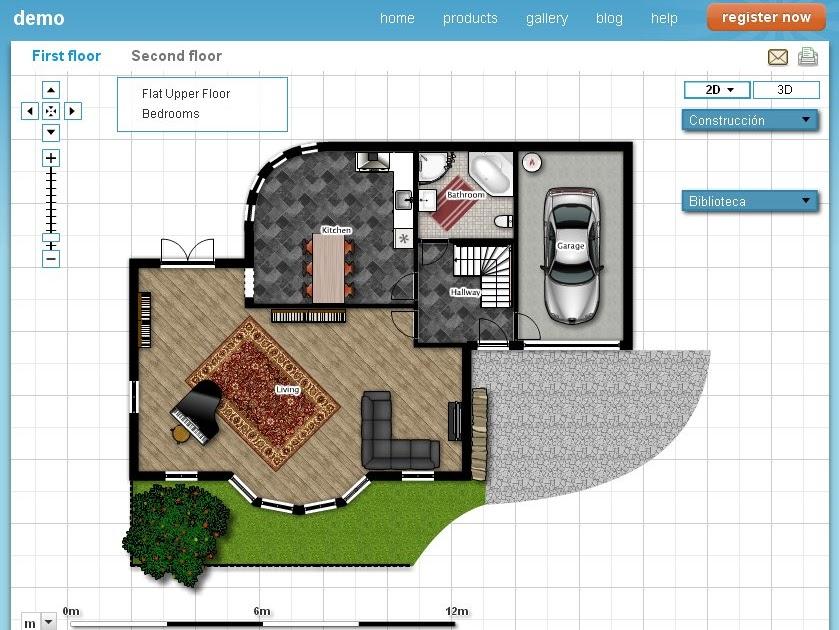 Cultivando la mirada dise a tu casa con floorplanner 2d y 3d for Disena tu casa app