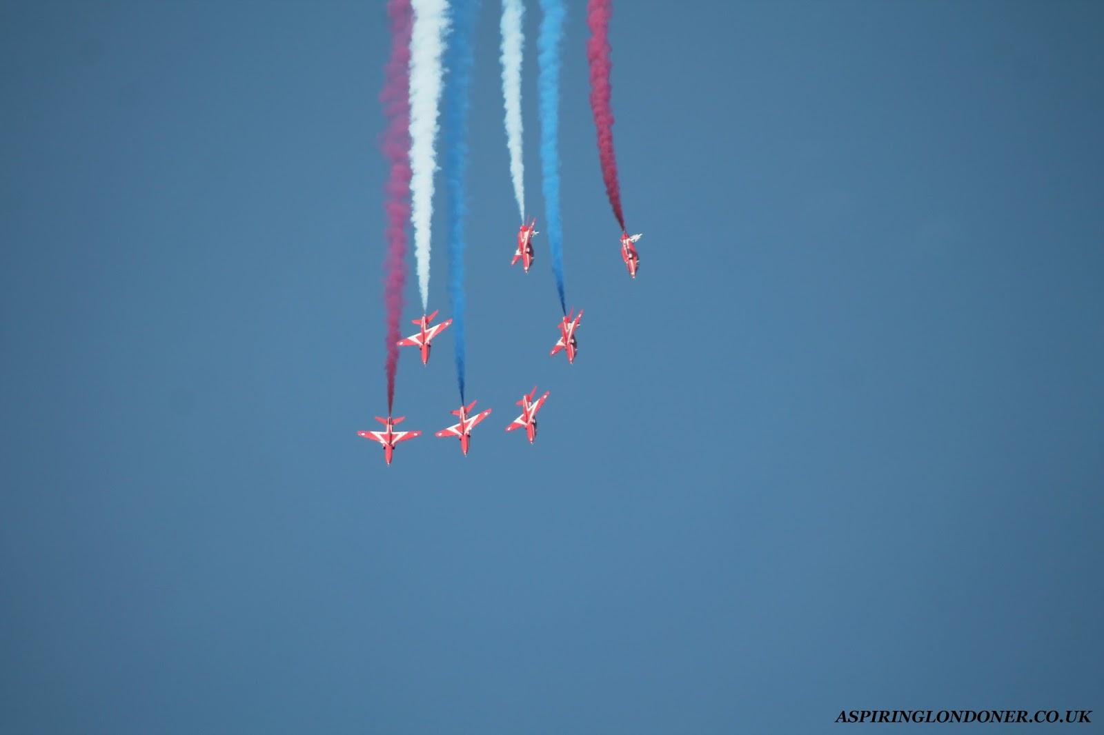Sunderland International Airshow Red Arrows - Aspiring Londoner