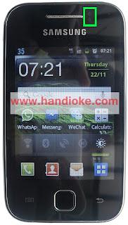 Sensor Proximity pada Android Samsung Galaxy Y