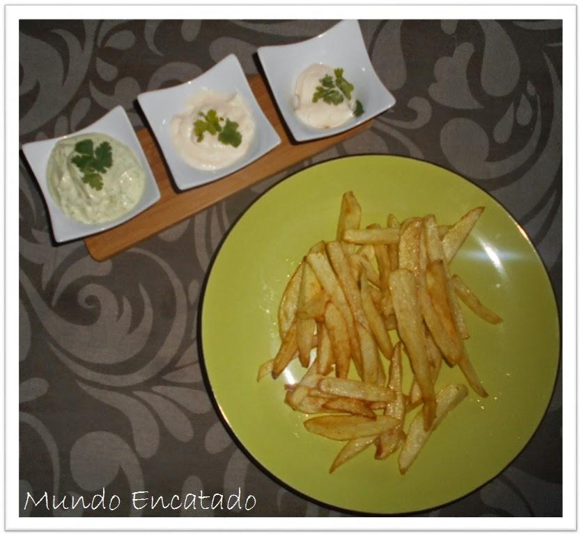 Cozinha Encantada | As Batatas Fritas e as Três Maioneses.