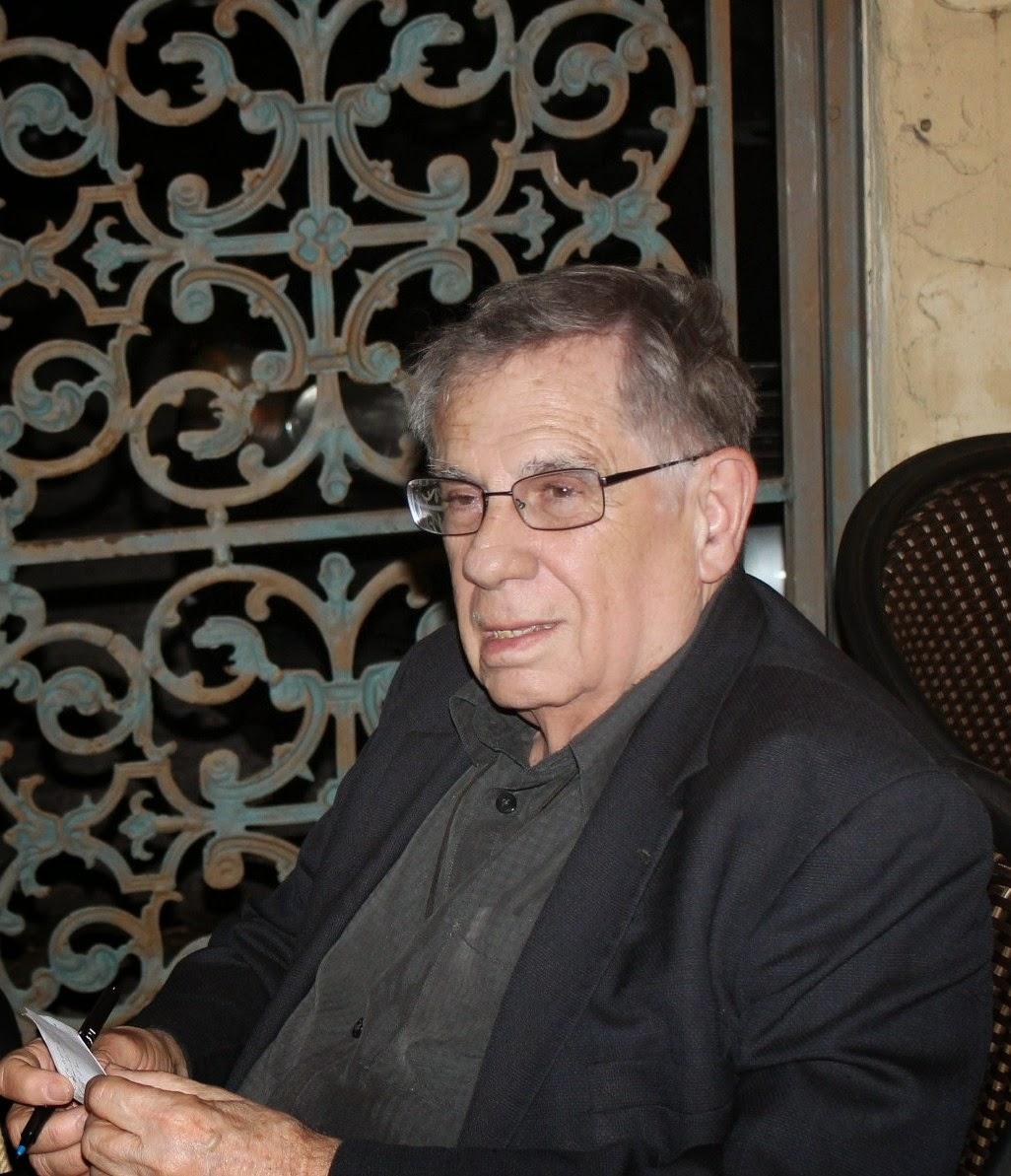 Matías Montes Huidobro en Café Demetrio