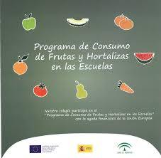 PROGRAMA DE CONSUMO DE FRUTAS Y HORTALIZAS EN LAS ESCUELAS