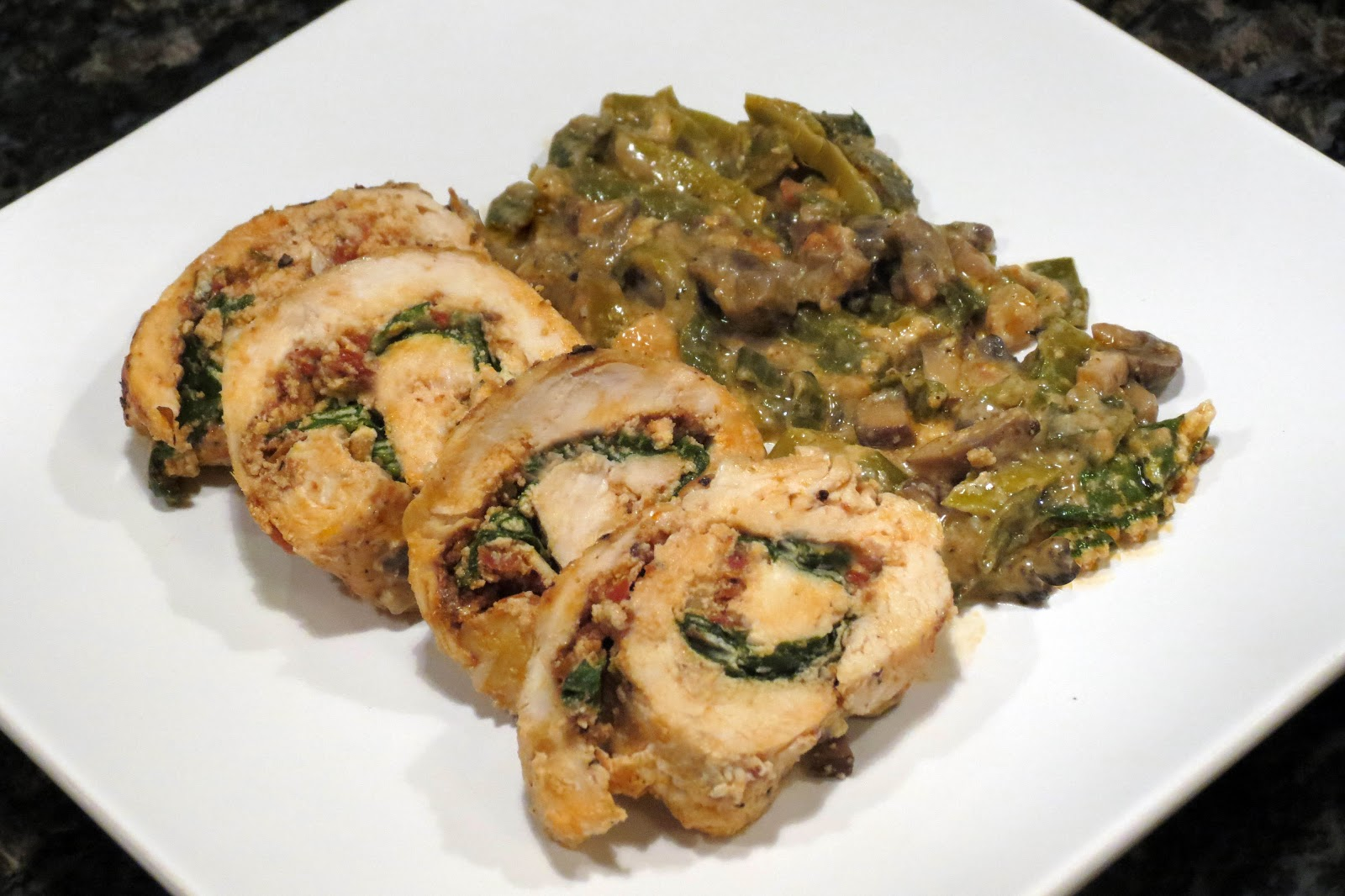 Ricotta, Mushroom, And Herb Stuffed Chicken Breasts Recipes ...