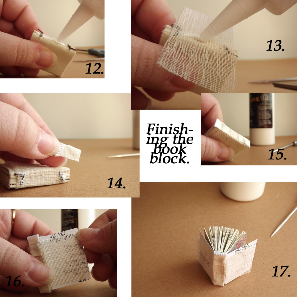 How To Make A Book Quote Pendant ~ Making my rent mini book necklace tutorial